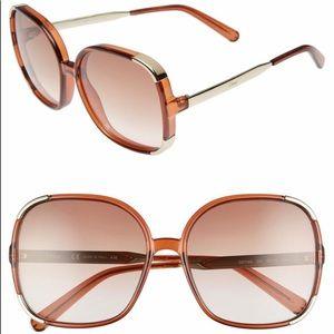 Chloe Oversize Myrtle sunglasses